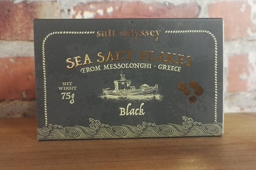 Salt Odyssey Sea Salt Flakes with Black 75g
