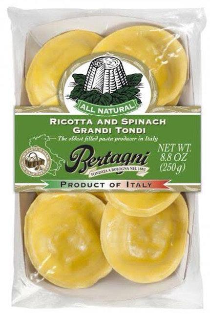 Bertagni Fresh Pasta - Ricotta and Spinach Grandi Tondi 250g