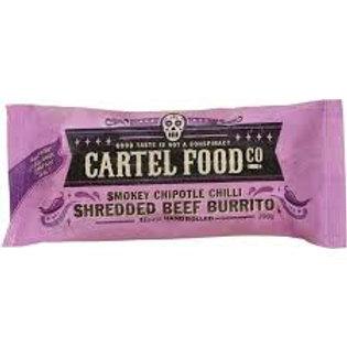 Cartel Food Co Burrito Smokey Chipotle Chilli Beef 200g