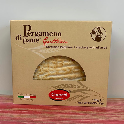 Sardinian Parchment crackers with olive oil - 100g
