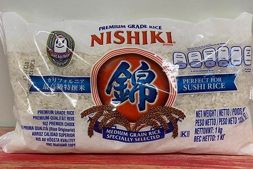 Nishiki - Premium grade rice - 1kg