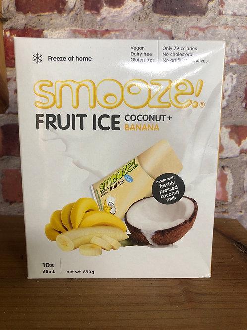 Smooze Fruit Ice - Coconut Banana