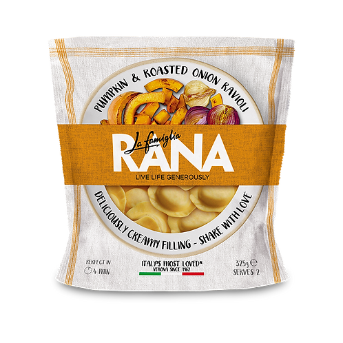Rana Pumkin & Roasted Onion Ravioli - 325g