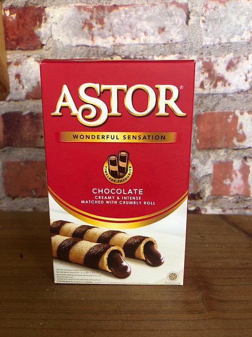 Astor Chocolate Wafer Roll