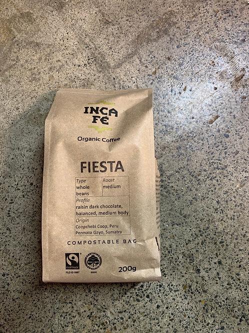 IncaFe - Fiesta whole beans - 200g