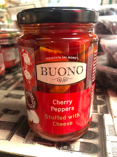 Buono Cherry Peppers Stuffed with Cheese 280g