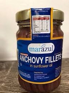 Marazul Anchovy Fillets in Sunflower Oil