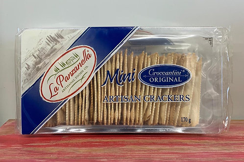 La Panzanella - Mini artisan crackers - Original - 170g