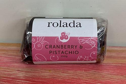 Rolada - Cranberry & Pistachio - 150g