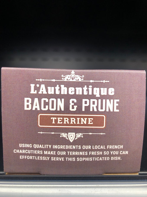 L' Authentique Bacon & Prune Terrine 100g