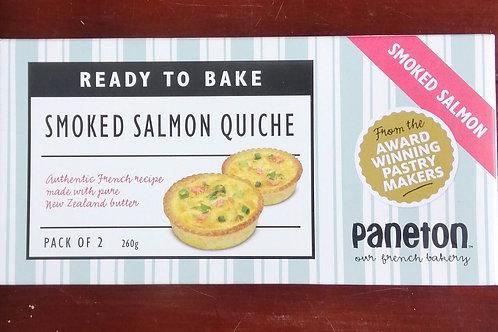 Smoked Salmon Quiche - 2 pack