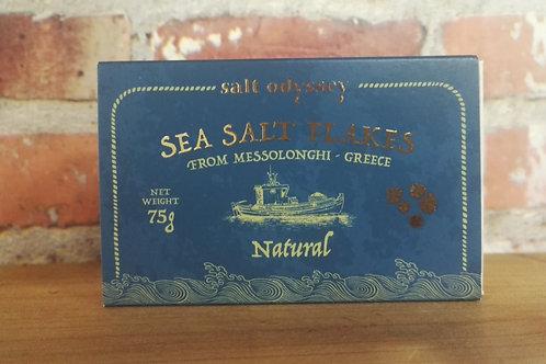 Salt Odyssey Sea Salt Flakes Natural 75g