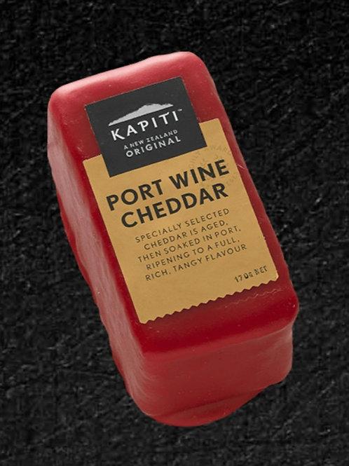 Kapiti Port Wine Cheddar - 170g