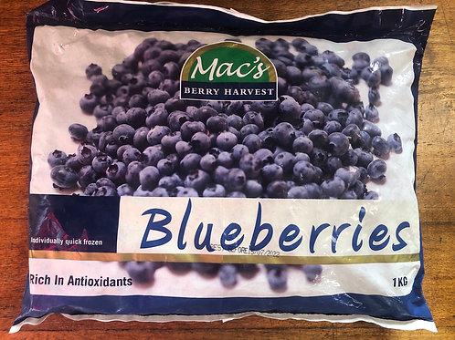 Frozen Blueberries - 1kg