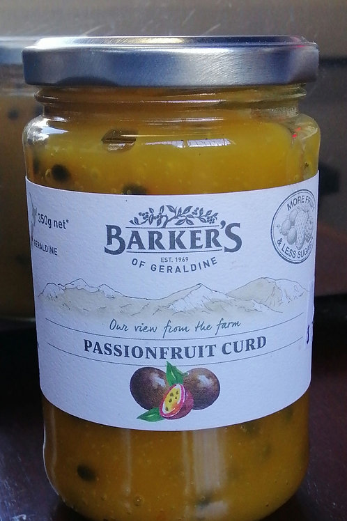 Barkers Passionfruit Curd 350 g