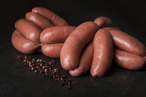 Merlot & Cracked Pepper Beef Sausages - 480g