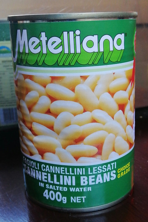 Metelliana Cannellini Beans - 400g