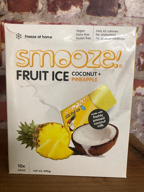 Smooze Fruit Ice - Coconut Pineapple