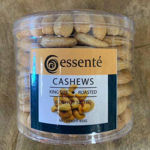 Essenté - Cashews - king size roasted and lightly salted - 450g