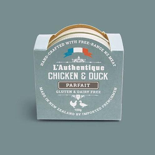 L'Authentique Chicken and Duck  Parfait