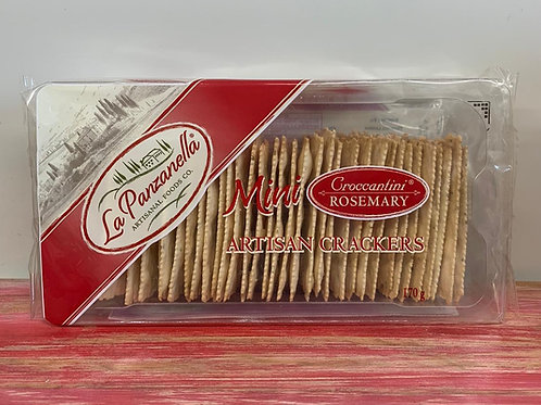 La Panzanella - Mini artisan crackers - Rosemary - 170g