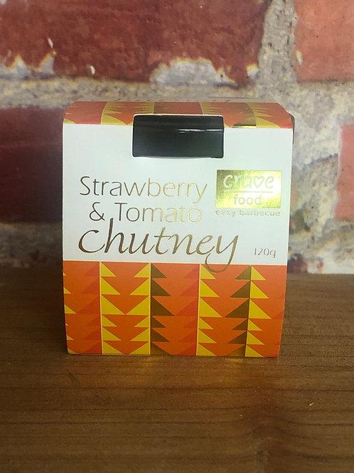 Crave Food Strawberry & Tomato Chutney