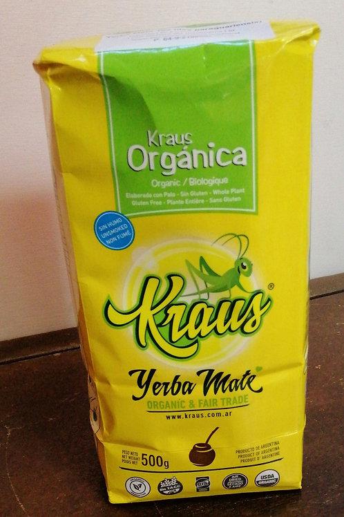 Kraus Yerba Mate Organic & Fair Trade - 500g