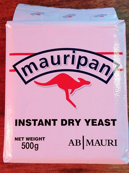 Mauri pan instant dry yeast 500 g
