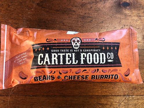 Cartel Food Co Burrito Beans & Cheese 200g