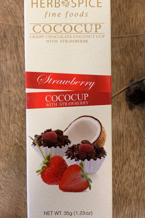 Herb Spice fine foods - Cococup with Strawberry - 35g