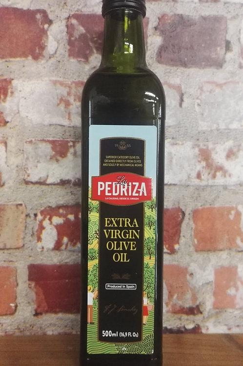 La Pedriza Extra Virgin Olive Oil 500ml