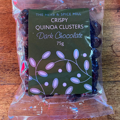 Crispy quinoa clusters - Dark chocolate 75g