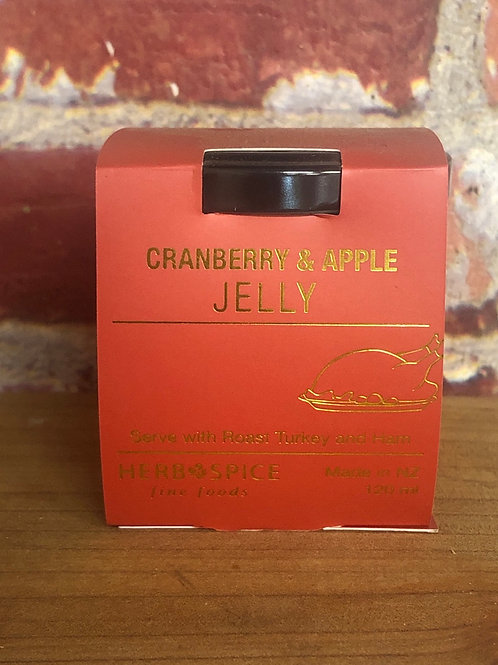 Herb Spice Cranberry Apple Jelly