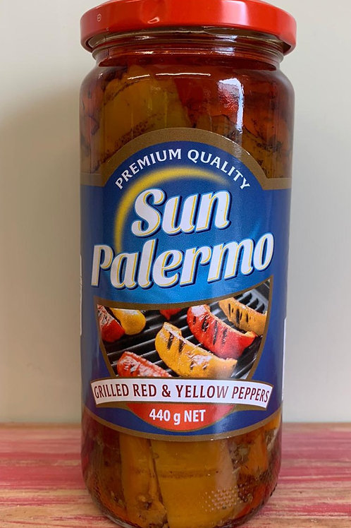 Sun Palermo - Grilled Red & Yellow Peppers - 440g