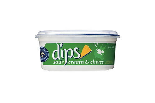 Country Goodness Sour Cream & Chives Dip - 250g