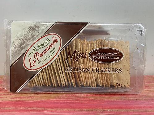 La Panzanella - Artisan crackers - Toasted sesame - 170g