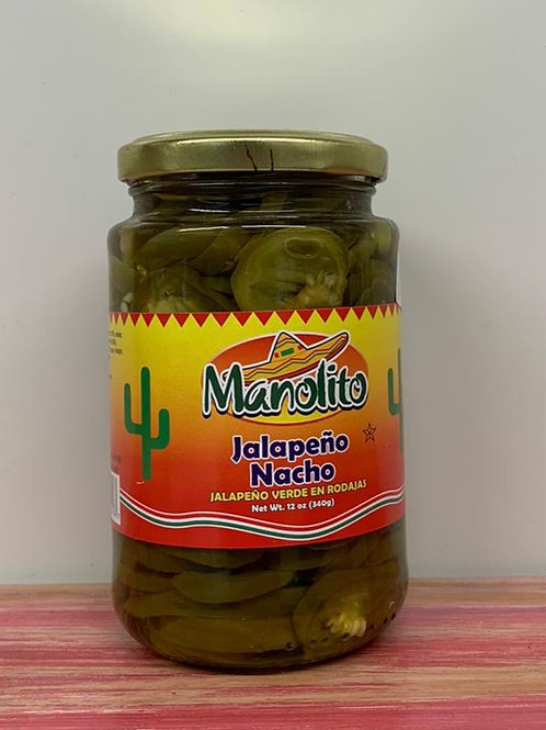 Manolito - Jalapeno Nacho- 340g