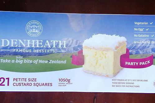 Denheath Custard Squares - box of 21