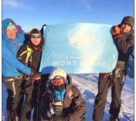 Une équipe de l'école de la deuxième chance a gravi le Mont-Blanc