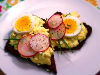 Russian Egg Salad Sandwich