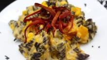 Cheesy Larvae & Charred Skin