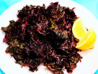 Barbeque Kale Chips