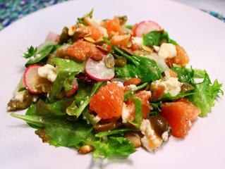 Grapefruit Feta Salad