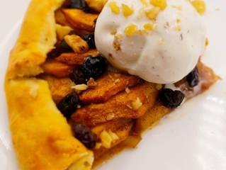 Apple, Raisin & Walnut Crostata