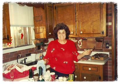 My Italian grandma!