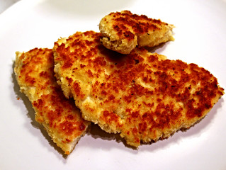 Chicken Cutlets...or How to Turn One Chicken Breast into Two!