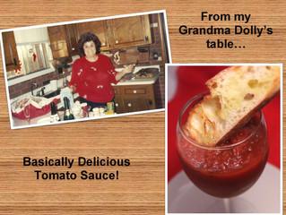 Grandma Dolly & the Basically Delicious Tomato Sauce