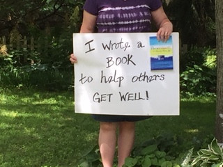 chantal can't see her holding book and s
