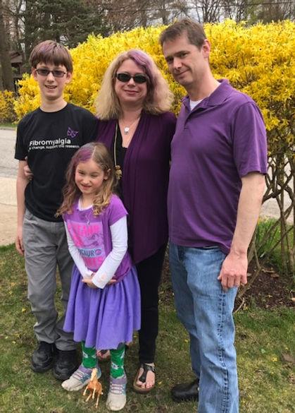 fibromyalgia awareness day family pictur