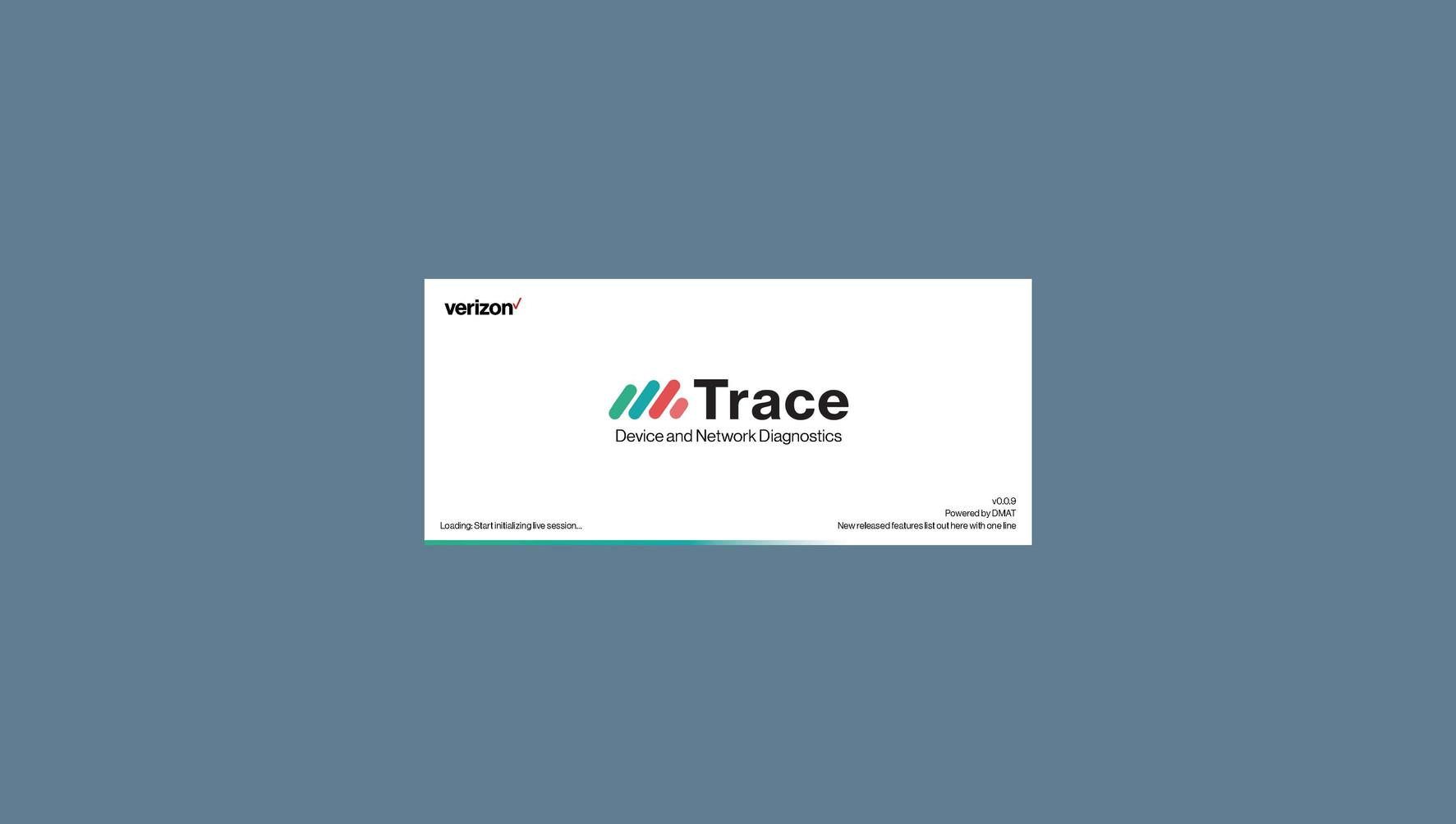 Trace App Loading